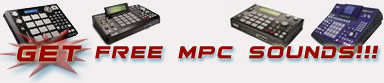 Send Free MPC Sounds & Samples
